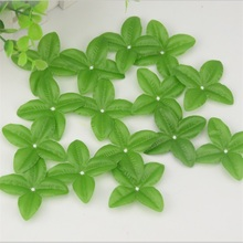 Cheap 150pcs Artificial Flower Green Leaves  For Wedding Decoration Garland Rose Leaf Foliage Decorative Floristry Craft Flowers