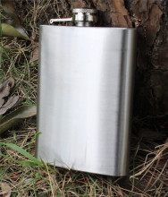 8oz portable Stainless Steel Liquor Hip Flask  Mini Alcohol Drink Bottle Fishing Outfits personalized flask