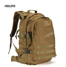 MELIFE Outdoor 3D Military Army SWAT Tactical Molle Backpack Camping Hiking Trekking Sport Camouflage Bag Large Travel Backpack