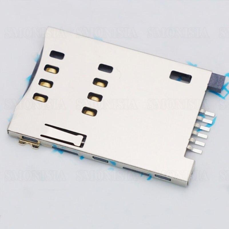SIM Card Slot Self Push For MUP C719 6P Flip Connector Original<br>