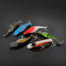 Great weight submerged fishing harbor bass Minnow Lure cow killing 14cm \ 42g bionic fishing lure(China)