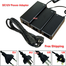 AC 100-240V Adaptor To DC12V 3A 12V 4A 12V 5A12V 6A 7A 8A12V8.5A Power Adapter 12V 36W 60W 100W power supply  with IC chip