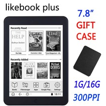 BOYUE Likebook Plus 7.8 inch ebook Reader touch screen 300ppi 1G/16GB 2800mAh Bluetooth wifi Backlight e-book ereader gift cover(China)