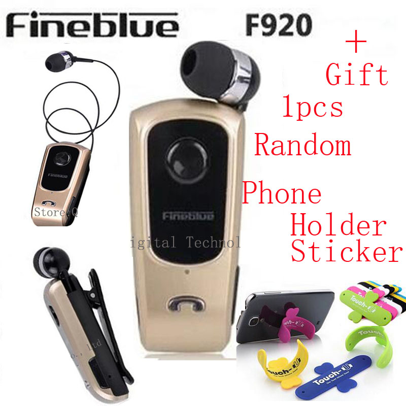 FineBlue F920 Wireless Bluetooth Earphones Headset Clip Retractable Earbuds Calls Remind Vibration Car Driver auriculares Kit<br><br>Aliexpress