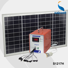 ***Without Battery*** 12V 17AH Portable Solar System Generator,Solar Power System  EMS Free Shipping (S1217H)