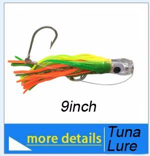 Albacore-tuna-on-fishing-lure