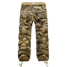 Boy Pants Cool Mens Casual Camo Pants Slacks Stylish Spring Autumn Military Army Work Trousers 2017 New 0078(China)