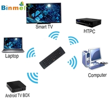 Binmer New  Wireless Remote Control Keyboard Air Mouse 2.4G For XBMC Android TV Box Mini PC Nov28 Drop Shipping MotherLander