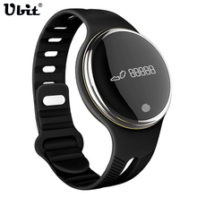 Ubit Smart Watch Wristwatch IP67 Waterproof Tracker Fitness Cycling Record Colck Watches for iPhone Android E07 Pedometer(China)