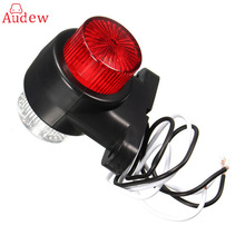8 LEDS Car Truck Rear Tail Light Warning Lights Rear Lamps Waterproof Double Sides Marker Trailer Lights 10-24V