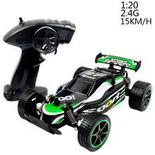 RC CAR 1:20 15KM/H 2.4G high speed remote control vehicle off-road drift toy car 23211(China)