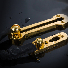 Security Chain Door Lock Hotel Room Door Chain Furniture Buckle Hinge Anti-theft Hardware Fitting Chain Lock(China)