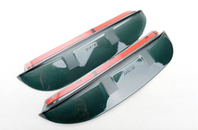 Side Door Rearview Mirror Sun Rain Guard Deflector Cover 2pcs For Toyota Land Cruiser Prado FJ150 2010-2015