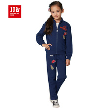 girls suit kids clothes 2016 brand children clothing set girls spring suit 2pcs(coat+pants)kids suit children tracksuit for girl