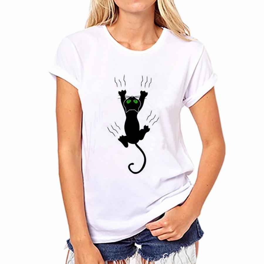 100% Pur Coton T-Shirt D'été 2018 Vente De Mode Col Rond T-shirt Adorable Panda Mignon T-shirt Femmes kawaii Vêtements Casual 20