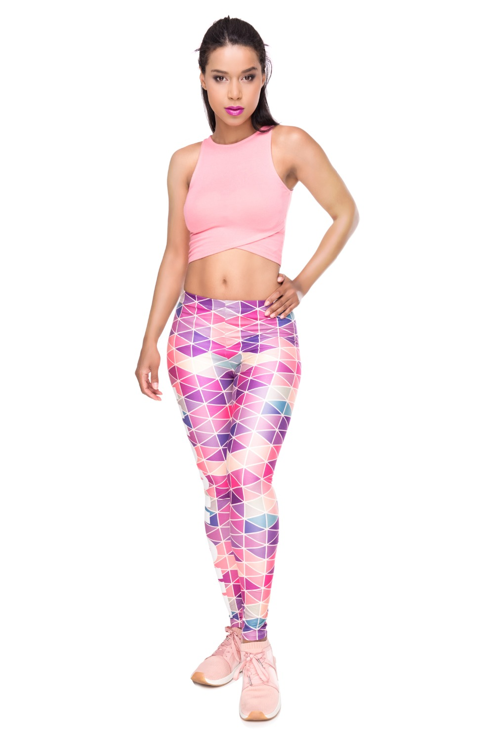 34261 WORK OUT triangle pink (1)