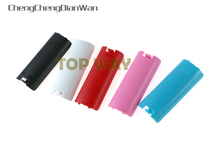 Colors Battery Back Cover Shell Case for Nintendo Wii Remote Controller 4pcs/lot(China)