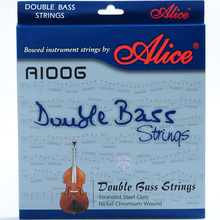 2 Sets Lot Alice A1006 Double Bass Strings 4-Strings