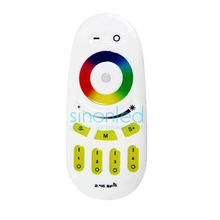 Wholesale  2.4G 4 zone groups RGBW RGB Wireless RF Touch Remote 2.4ghz for RGB LED Strip Light smart RGBW/RGB Bulb/Lamp/Panel