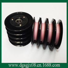 High polished pink Wire pulley / drawing stranding winding combined ceramic pulley CR1010-B10