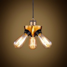 Edison Personalized Bar Lighting Counter Lamps Loft Style Vintage Pendant Lights Retro Pendant Lamps for Warehouse
