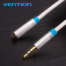 Buy Vention 3.5mm Audio Extension Cable Stereo Male Female Aux Phone Cable Headphone Adapter iPhone 6s 6 MP3 CD Player Radio for $3.82 in AliExpress store