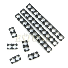 50x 18650 Battery Spacer Radiating Shell EV Pack Plastic Heat Holder Bracket #R179T#Drop Shipping(China)