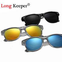 Long Keeper Cool 6-15 Years Kids Sunglasses Brand Design Sun Glasses for Children Boys Girls Fashion Eyewares Coating Lens