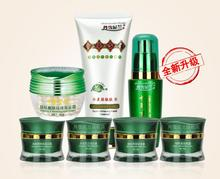 Danxuenilan spot removing blemish whitening cream 7pcs/ set Free shipping Whitening rejuvenation blemish cosmetics set(China)