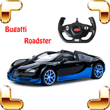 New Year Gift Bugatti Veyron 1/14 Scale Model 2.4G RC Car Speed Drift Car Race Remote Control Machine Vehicle Toys Present(China)