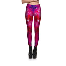 Drop Ship New Hot Sexy Women Universe Colourful Galaxy Printed Leggings Elasticity Tie Space Fashion Dye Silk Milk