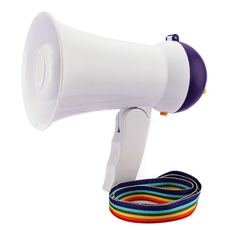 New Stylish Best Price Mini Portable Megaphone Foldable Bullhorn Hand-held Grip Loud Clear Voice Booster Amplifier Loudspeaker(China)