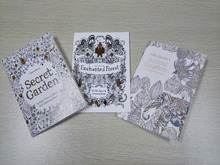 3PCS English Edition Secret Garden+Fantasy dream +Animal Kingdom Coloring Book Children Adults Colouring Book Each Book 16 Pages