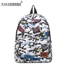 2017 New Brand Original Design Women Laptop Canvas Backpack Teenager for Girls Schoolbag Travel Bag Rucksack Bolsas Mochilas