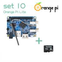 Orange Pi Lite SET10: Pi Lite and 16GB Class 10 Micro SD Card Supported Android, Ubuntu, Debian Above Raspberry