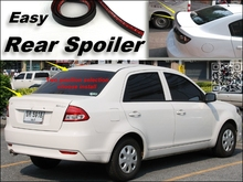 Root / Rear Spoiler For Proton Saga Trunk Splitter / Ducatail Deflector For TG Fans Easy Tuning / Free Modeling
