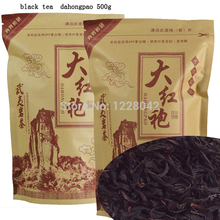 500G Top Grade 2017 clovershrub Da Hong Pao Red Robe dahongpao Oolong Tea Lose weight the tea black antifatigue free shipping
