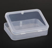 High quality transparent Card Holders plastic box PP Storage Poker box packing shipping material (CARDS width less than 6cm)(China)