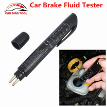 Newest Brake Fluid Tester Pen 5 LED Mini Indicator For Car Repairs Tools Vehicle Auto Automotive Diagnostic Tool Brake Tester