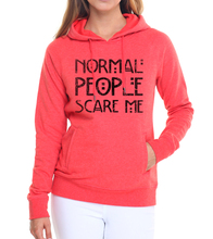 2017 fashion women fleece hip-hop pullovers Normal People Scare Me Brand tracksuits funny kawaii hoodies pink sweatshirts S-XXL