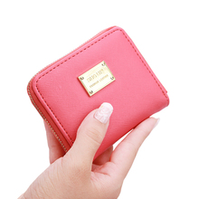 2017 Famous Brand Clutch Bag Women Wallets Small Candy Colors Coin Purse For Female Zipper Short Wallet Handbag