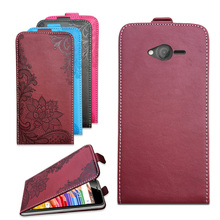 Brand Flip Case For DEXP Ixion E145 Evo SE 3D Embossing PU Leather Protective Bags Cover With Card Pocket
