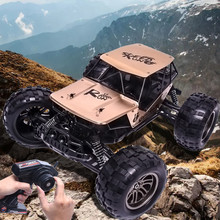 Racing Series 1:12 2.4G 2WD Alloy High Speed RC Monster Truck Remote Control Off Road Car RTR Toy New Description gift for kid(China)