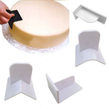 NEW Cake Smoother Polisher Smooth Tools Fondant Cake Tools Mould Surface Polishing Pastry Molds Cupcake Icing DIY