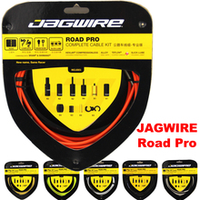 Top quality JAGWIRE RACER ROAD PRO L3 Road Pro Complete cable kit / brake cable sets Bicycle Road bike brake line 15 colors(China)