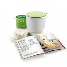 Cheese Maker Microwave Plastic Healthy For Making Cheese Contains Recipes Home Cooking Kitchen Dessert Pastry Pie Tool