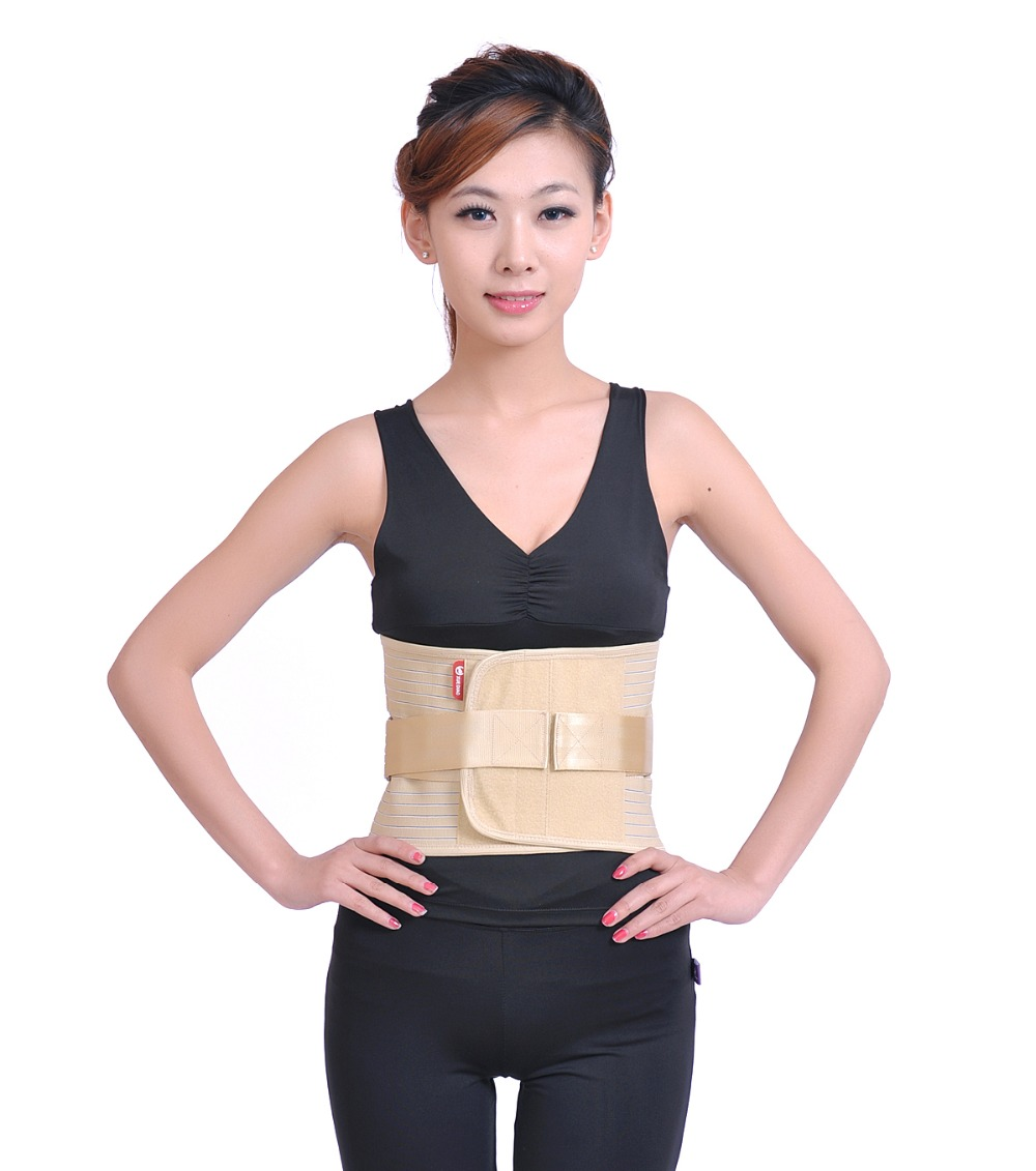 Waist Support Belt Back Magnetic Therapy Widen Lumbar Support Brace Breathable Mesh Steels Plate Protection Sport Belts S M L<br><br>Aliexpress