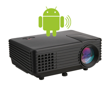Andriod OS System RD805 projector Portable Smart HD TV LED Projector Support 1080P Built-in Multimedia Video Home Cinema Theater