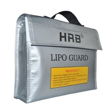 HRB 240x65x180mm Fireproof RC LiPo Battery Portable Explosion-Proof Safety Bag Safe Guard Charge(China)