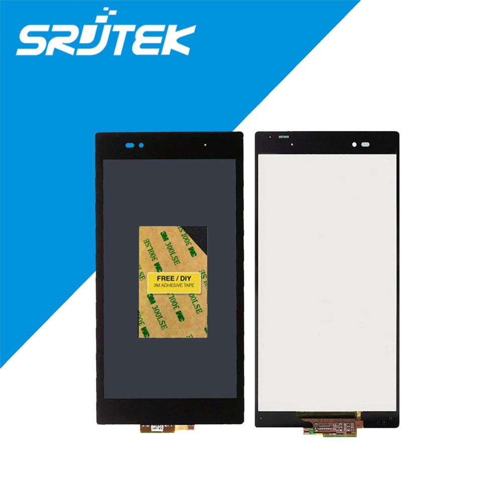 New For Sony For Xperia Z Ultra XL39h XL39 C6802 C6806 LCD Display Touch Screen Digitizer Assembly Free Shipping 1920*1080<br><br>Aliexpress